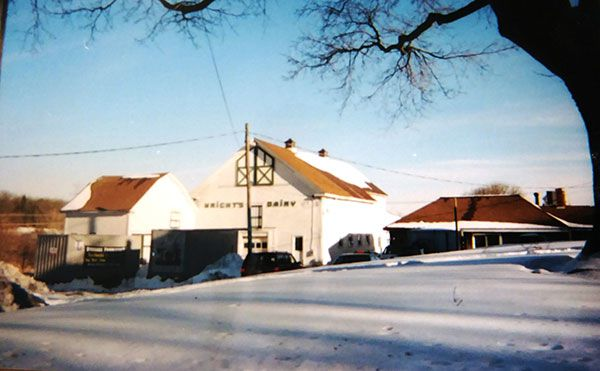 Wrights Dary - Old Barn